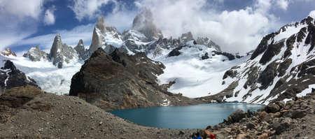 roy: Laguna de los tres and Fitz Roy in Argentina