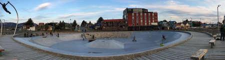 puerto natales: Skate park in Puerto Natales, Chile
