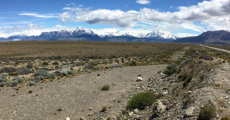 chalten: Landscape near El Chalten, Argentina Stock Photo