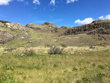 los glaciares: Landscape in Los Glaciares National Park, Argentina Stock Photo