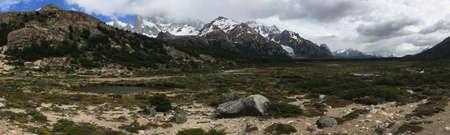 chalten: Andes Mountains near El Chalten, Argentina