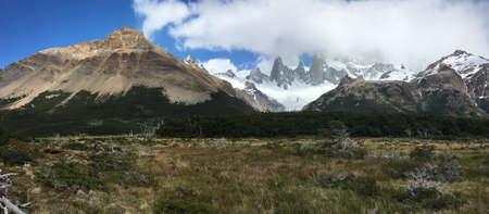 fitz: Fitz Roy in Los Glaciares National Park, Argentina Stock Photo