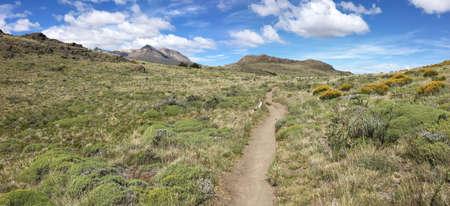 los glaciares: Trail in Los Glaciares National Park, Argentina