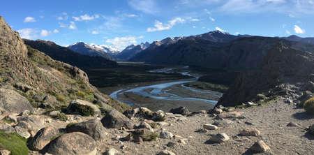el chalten: Rio los Vueltos in El Chalten, Argentina