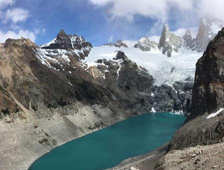fitz roy: Laguna Sucia and Fitz Roy in Argentina