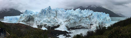 Perito Moreno Glacier in Argentina Stock Photo