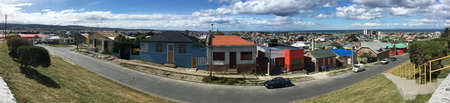 View over Punta Arenas, Chile