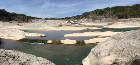 Pedernales Falls in Texas