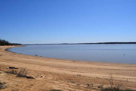 Enid Lake in Mississippi