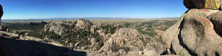 Vedauwoo rock outcroppings in Wyoming Stock Photo