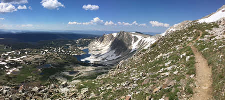 Trail to Medicine Bow Peak in the Snowy Range, Wyoming