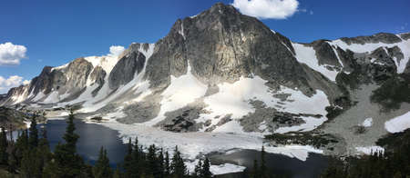 Lookout Lake in the Snowy Range, Wyoming