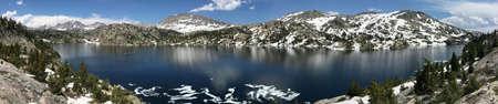 seneca: Seneca Lake in the Wind River Range, Wyoming