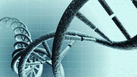 Genetic DNA Standard-Bild