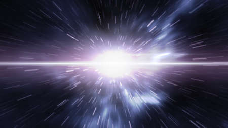 time travel: Futuristic time travel or spacewarp Stock Photo