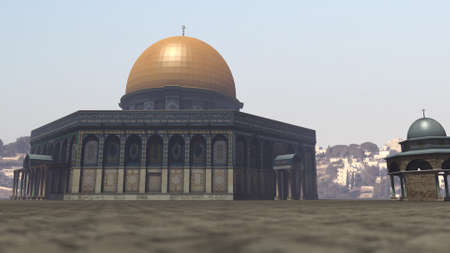 dome of the rock: Famous Dome of the Rock in Jerusalem