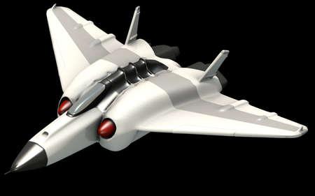 Isometric futuristic sci-fi architecture, fantasy space shooter. 3D rendering Standard-Bild