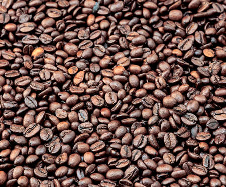 commodities: Photo illustrated a fruit coffee grains roasted seed Stock Photo