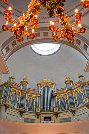 lutheran: Organ of Helsinki Lutheran Cathedral in Finland