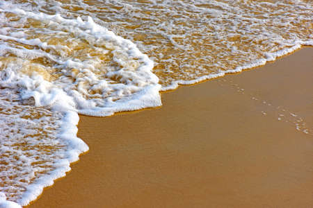 seawater: Water over sand in tropical beach