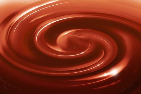 crème: cioccolato a forma di girandola