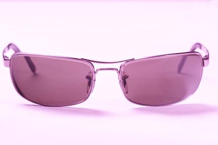 uv: sunglasses, shades, sun glasses, glasses, purple, UV protection Stock Photo