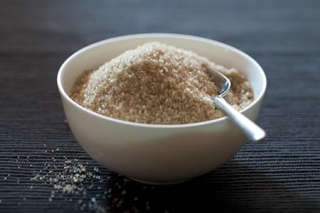 sucrose: Bowl with brown sugar