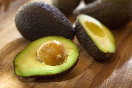 halved: Halved Avocado