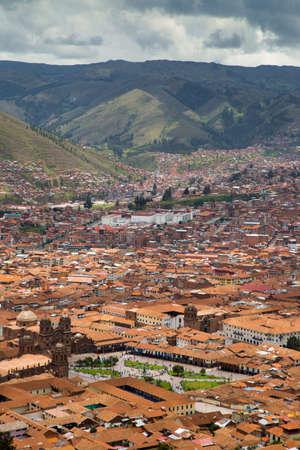 Cuzco cityscape Stock Photo