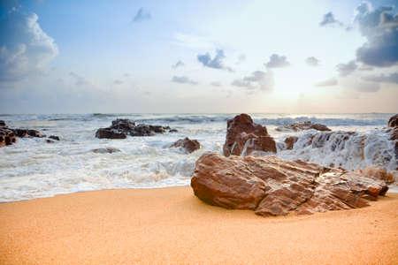The Beach during Sunrise