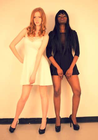 fair skinned: Dark Skinned Female Model, Red Head Fair Skin Model