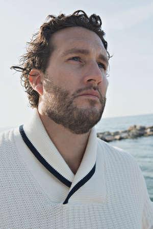スウェーデンの男性モデル 写真素材