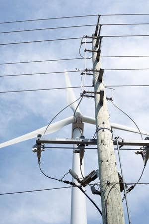 Power Lines, Wind Turbine