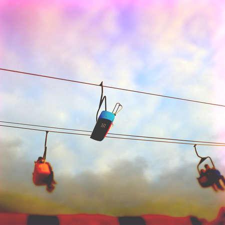 Carnival Lift Ride Imagens - 44680360