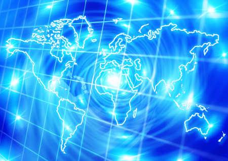 world globalization concept photo