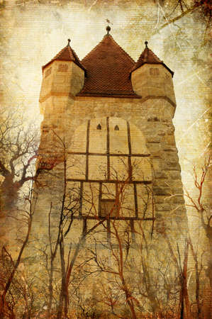 mysterious tower photo