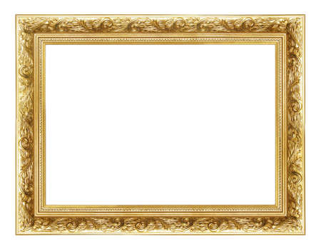 bordering: golden frame