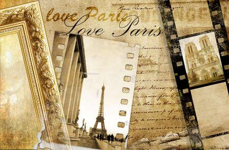 Paris album photo