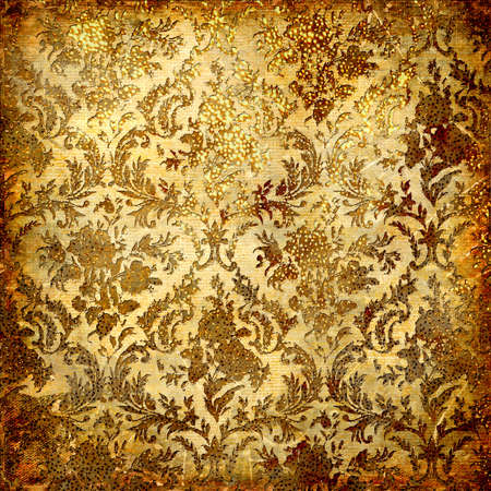 scrap gold: golden grunge