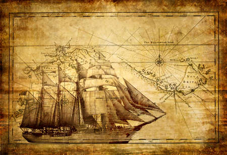 barco pirata: historias de aventura Foto de archivo