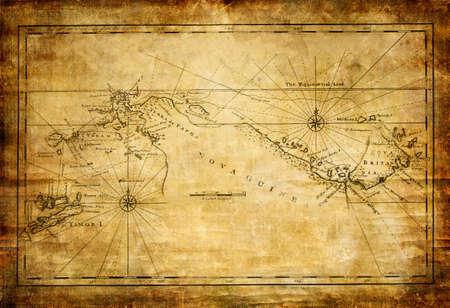 burnt edges: ancient map