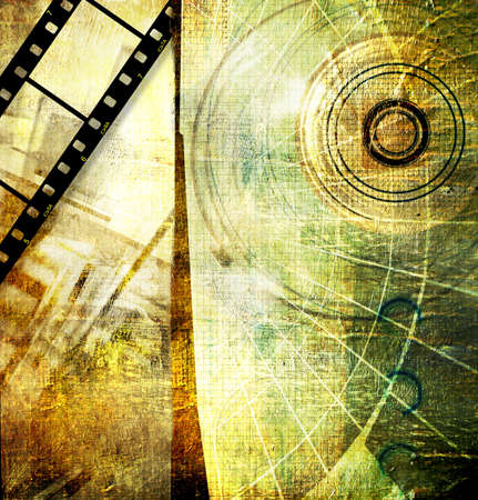strip structure: digital art Stock Photo