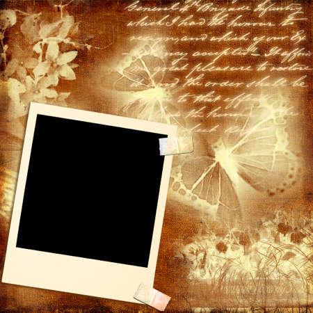 paperboard: vintage backgrond