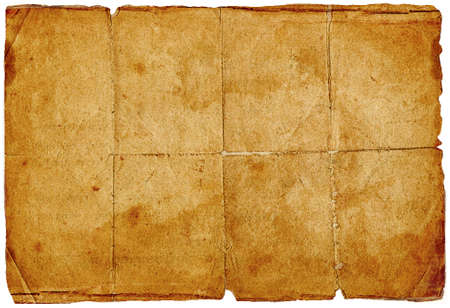 ancient creased paper Stock Photo - 3087810
