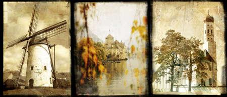 old Europe - vintage collage