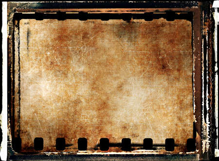 framed grunge background from filmstrip Stock Photo - 3391930