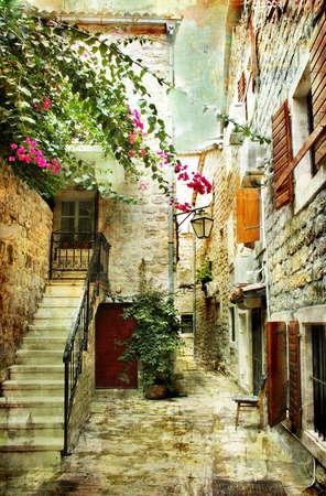 chorwacja: stare Chorwacja - obraz w stylu malarstwa