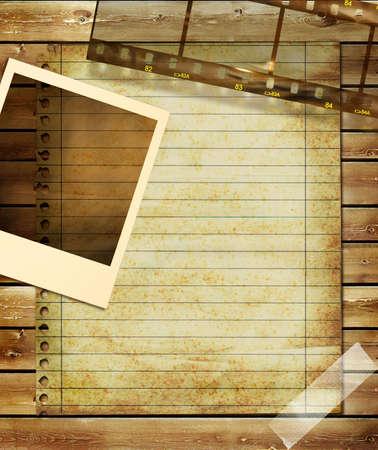 paperboard: vintage staff