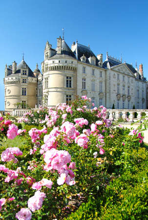 Le Lude castle - Loire valley (from my castle collection) Stock Photo