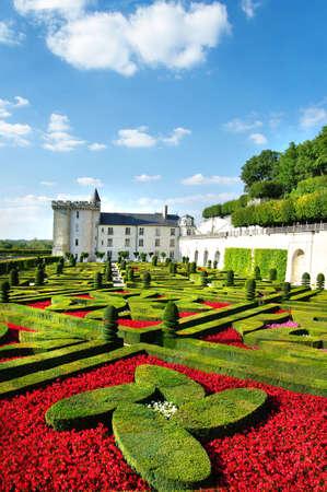 loire: beautiful Villandry castle - Loire valley